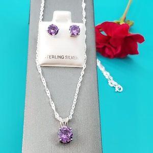 NEW Urban Anthropologie Monroe Pink Flower Blue Gemmed Long Necklace